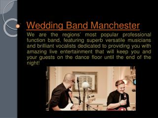 Wedding Band Bristol