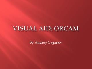 Visual AID: ORCAM