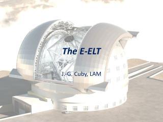 The E-ELT