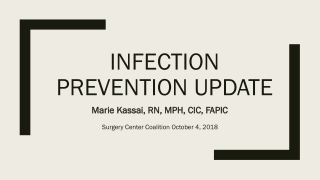 Sterilization and Disinfection Update: What You Need to Know