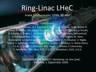 Ring- Linac LHeC
