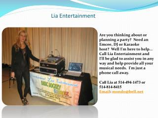 Lia Entertainment