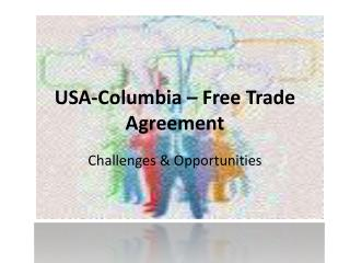 USA-Columbia – Free Trade Agreement