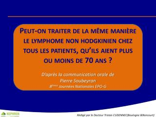 Rédigé par le Docteur Tristan CUDENNEC(Boulogne Billancourt)