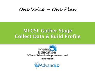 MI-CSI: Gather Stage Collect Data & Build Profile