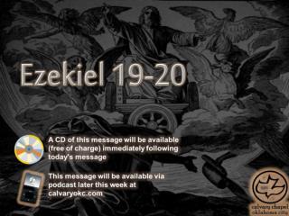 Ezekiel 19-20