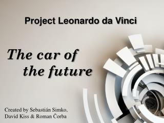 Project Leonardo da Vinci