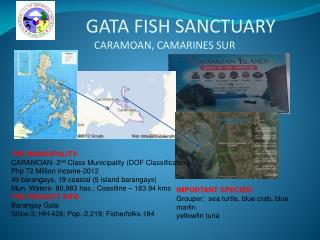 GATA FISH SANCTUARY CARAMOAN, CAMARINES SUR