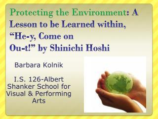 Barbara  Kolnik I.S. 126-Albert  Shanker  School for Visual & Performing Arts
