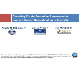 Chemistry Facets: Formative Assessment to Improve Student Understanding in Chemistry