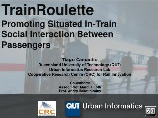TrainRoulette Promoting Situated In-Train Social Interaction Between Passengers