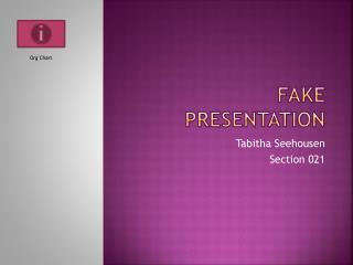 Fake Presentation