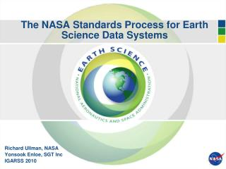 The NASA Standards Process for Earth Science Data Systems
