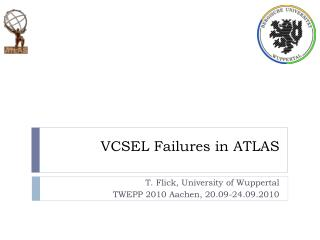 VCSEL Failures in ATLAS