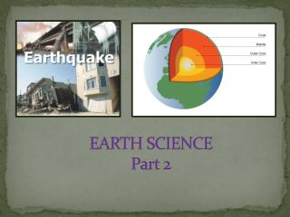 EARTH SCIENCE  Part 2