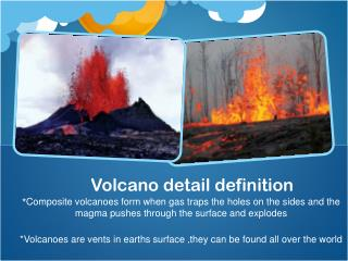 Volcano detail definition
