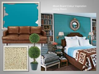 Mood Board Colour Inspiration Living Room.