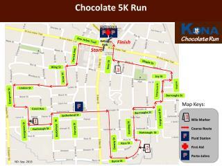 Chocolate  5K Run