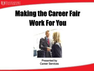 Making the Career Fair