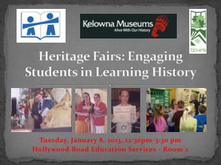 Heritage Fairs: Engaging Students in Learning History