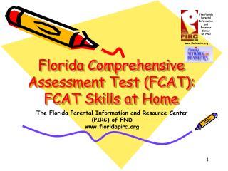 Florida Comprehensive Assessment Test (FCAT): FCAT Skills at Home