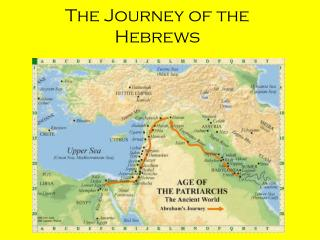 The Journey of the Hebrews