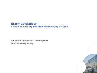 Erasmus-pladser - Hvad er det? Og hvordan kommer jeg afsted?