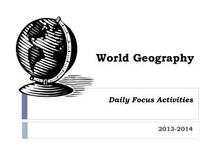 Daily Focus Activities