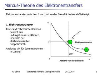 Marcus-Theorie des Elektronentransfers