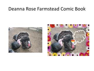 Deanna Rose Farmstead Comic Book