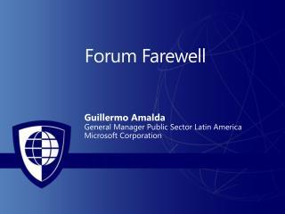 Forum Farewell