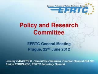 Policy and  Research Committee