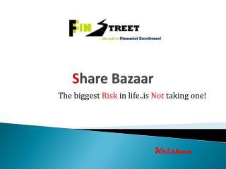 S hare Bazaar