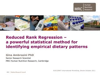 Reduced Rank Regression – a powerful statistical method for identifying empirical dietary patterns
