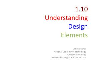 1.10 Understanding Design Elements