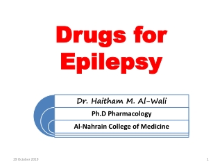 CNS   Antiepileptic Drugs