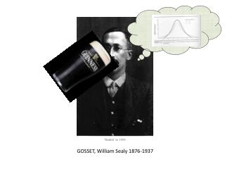 GOSSET, William Sealy 1876-1937