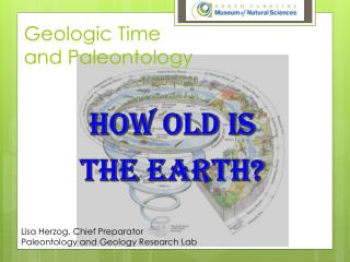 Geologic  Time and Paleontology