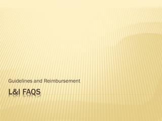 L&I FAQs