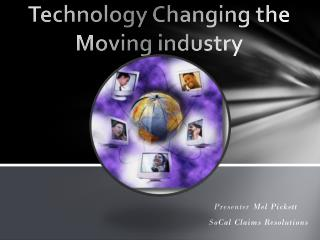 Technology Changing the Moving industry