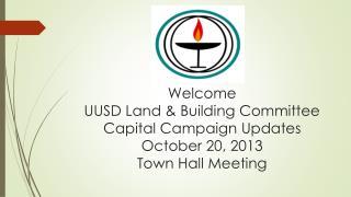 Land & Building Committee Walt SmithGary Schmidt