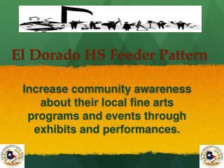 El Dorado HS Feeder Pattern