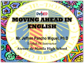 MOVING AHEAD IN ENGLISH