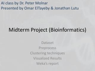 Midterm Project (Bioinformatics)