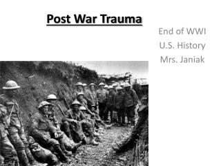 Post War Trauma