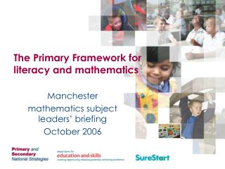 The Primary Framework for literacy and mathematics