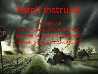 Fetch instruksi