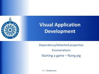 Visual Application Development