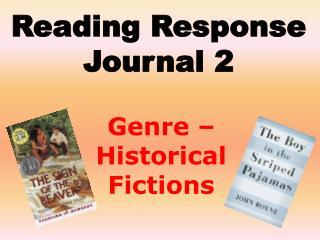 Reading Response Journal 2