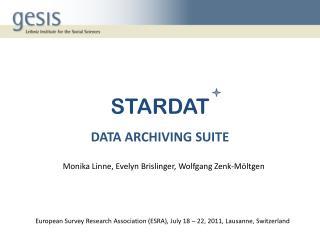 STARDAT DATA ARCHIVING SUITE